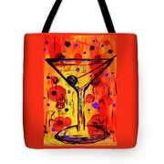 Martini Twentyfive Of Sidzart Pop Art Collection Tote Bag