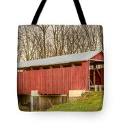 Martinsville Covered Bridge Tote Bag