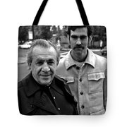 Marty And Guy Tote Bag