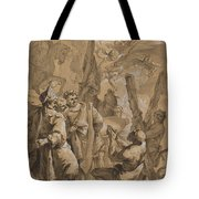 Martyrdom Of Saint Andrew Tote Bag