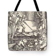 Martyrdom Of Saint Lawrence Tote Bag