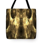 Marucii 168-03-13 Gold Mask Tote Bag