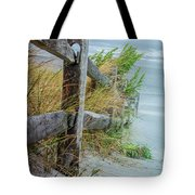 Marvel Of An Ordinary Fence Tote Bag