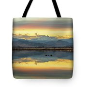 Marvelous Mccall Lake Reflections Tote Bag