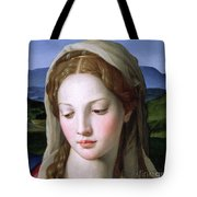 Mary Tote Bag by Agnolo Bronzino