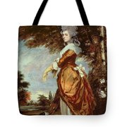 Mary Amelia First Marchioness Of Salisbury Tote Bag by Sir Joshua Reynolds