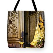 Mary And Baby Jesus In Palermo Tote Bag