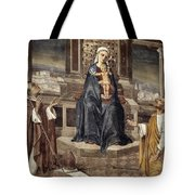 Mary And Baby Jesus Tote Bag