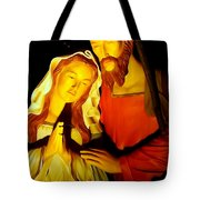 Mary And Joseph Tote Bag
