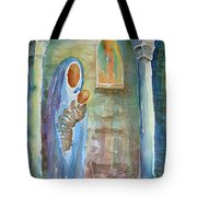Mary And The Child Tote Bag