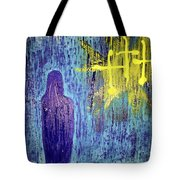 Mary And The Crosses Tote Bag