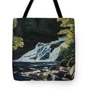 Mary Ann Falls On The Cabot Trail Tote Bag