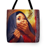Mary At The Cross - Lgmrc Tote Bag