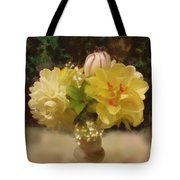 Mary Beth's First Spring Flowers Tote Bag
