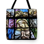 Mary In The Middle Tote Bag