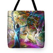 Mary Magdalene And Her Disciples Tote Bag