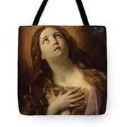 Mary Magdalene In Ecstasy At The Foot Of The Cross 1629 Tote Bag