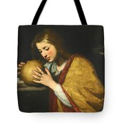 Mary Magdalene In Meditation  Tote Bag