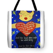 Mary, My Mother Tote Bag