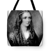 Mary Shelley, English Author Tote Bag