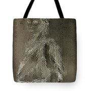 Mary Through The Looking Glass Tote Bag