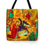 Mary Well Nativity Tote Bag