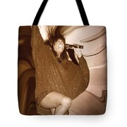 Mary Wilson Of The Supremes... Tote Bag
