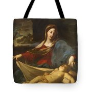Mary With Child 1635 Tote Bag