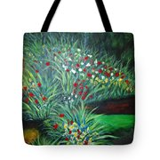 Maryann's Garden 3 Tote Bag