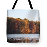 Maryland Autumns - Clopper Lake - Fall Bloom Tote Bag