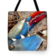 Maryland Blue Claw Tote Bag