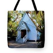 Mary's Chapel Tote Bag