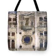 Marzaria Clocktower Reflection Tote Bag