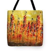 Masai Dance Tote Bag