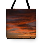 Masai Mara Sunset Tote Bag