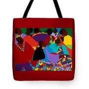 Masekelas Marketplace Congo Tote Bag