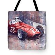 Maserati 250 F Gp Monaco 1956 Stirling Moss Tote Bag