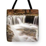 Mashfork Falls From Above Tote Bag