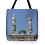 Masjid Darul-ibadah Domes And Minarets Dthcb0239 Tote Bag