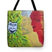 Mask Of Life Tote Bag