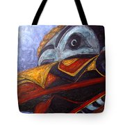 Mask Of The Raven Tote Bag
