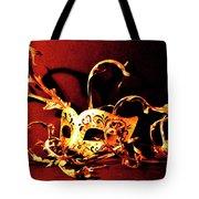 Masked Emotions Tote Bag