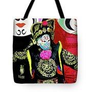 Masked Magician Tote Bag