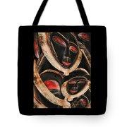 Masks Of Africa Tote Bag