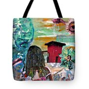 Masks Of Life Tote Bag