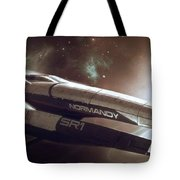 Mass Effect Normandy Space Planets Stars 15861 300x533 Tote Bag