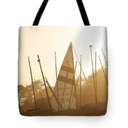 Mass Of Ships Tote Bag