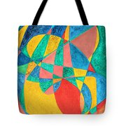 Massage In Abstract Word Art Tote Bag