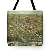 Massillon Ohio 1870 Tote Bag
