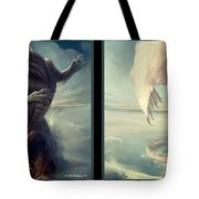 Massive Dragon - Gently Cross Your Eyes And Focus On The Middle Image Tote Bag